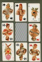Playing cards Great Russia,1994 Austrian, to commemorate a ball 1903, Nikolay II